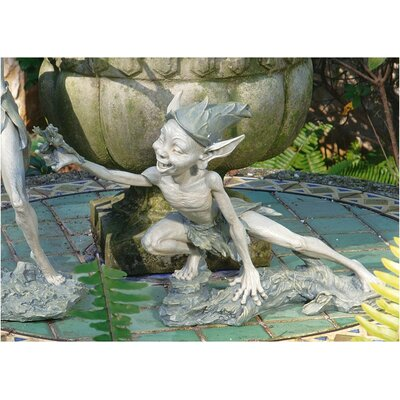 Design Toscano Stretch Garden Pixies Statue