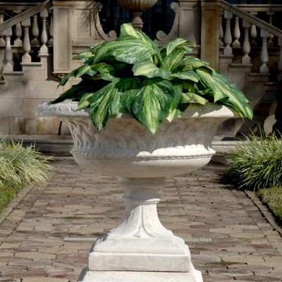 Design Toscano Larkin Arts and Crafts Architectural Garden Urn Statue