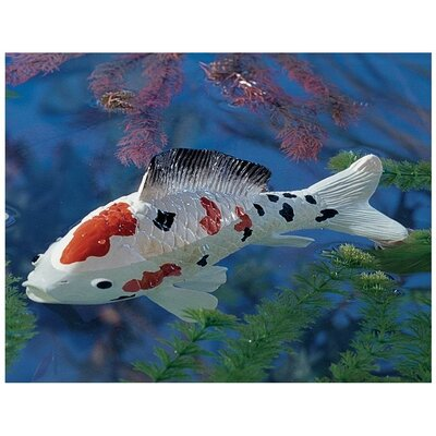 Japanese Floating Koi Medium Sculpture