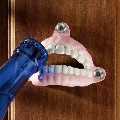 Design Toscano False Teeth Bottle Opener