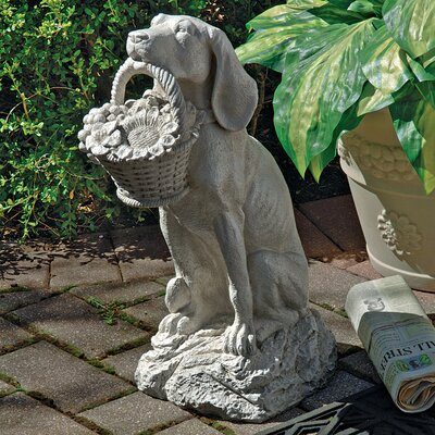 Man's Best Friend Dog Statue
