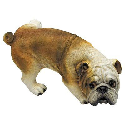 Design Toscano Good Dog Gone Bad Peeing Bulldog Statue