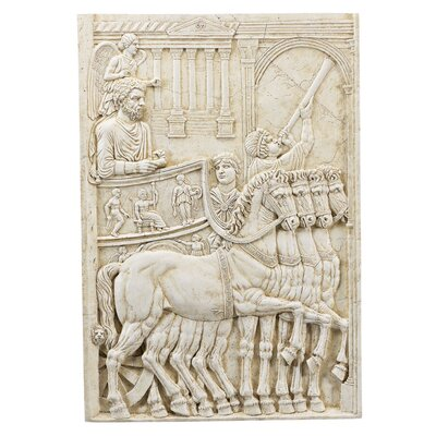 Design Toscano The Triumph of Marcus Aurelius Wall Frieze