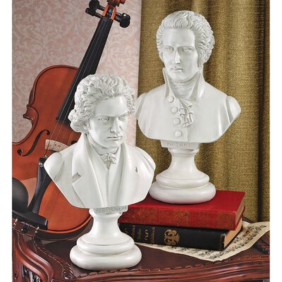 Design Toscano Great Composer Sculpture Set