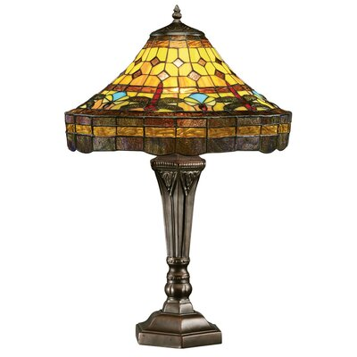 the carlisle beaux arts 19 h table lamp with bowl shade. Black Bedroom Furniture Sets. Home Design Ideas