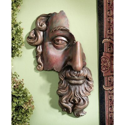 Design Toscano A Classical Fragment (17th Century) Wall Sculpture
