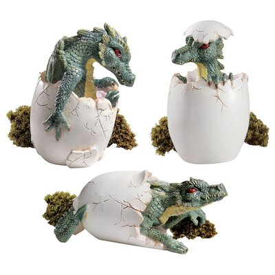 The Desktop Dragon Hatchlings (Set of 6)