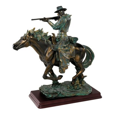 Design Toscano The Wild West Sharp Shooter Sculpture