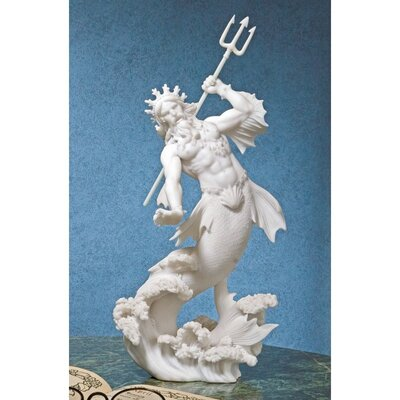Design Toscano Triton God Of The Sea Figurine amp Reviews