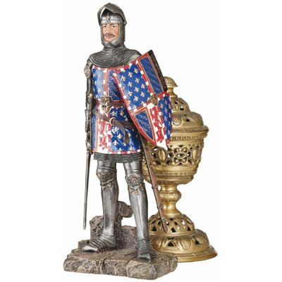 Design Toscano Fourteenth Century Crusader Knight Figurine