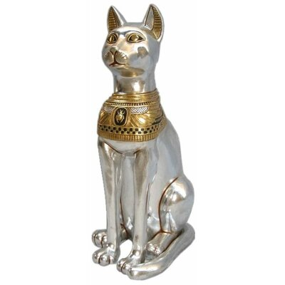 Egyptian Cat Goddess Bastet Grande Statue