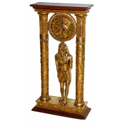 Temple of Amun Royal Egyptian Clock Statue