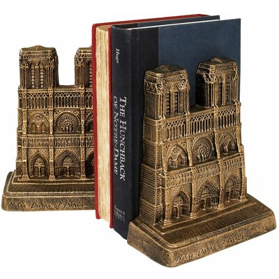 <strong>Design Toscano</strong> Notre Dame of Paris Sculptural Book Ends (Set of 2)