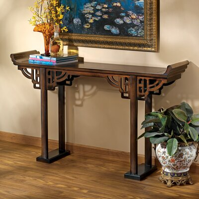 Forbidden City Asian Console Table