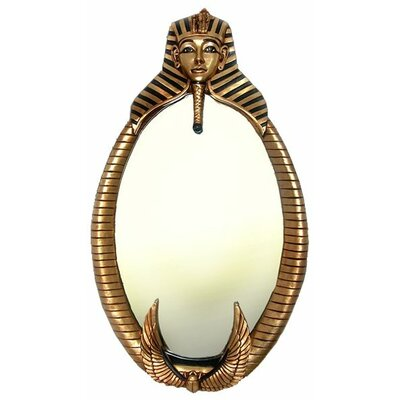 Design Toscano The Spirit of Tutankhamen: Egyptian Wall Sculpture Mirror