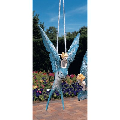 Design Toscano Thumbelina Fairy Hanging Wall Decor