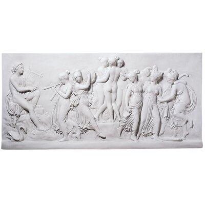 <strong>Design Toscano</strong> Apollo and Muses Wall Frieze