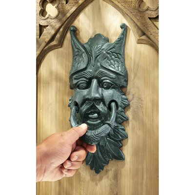 Design Toscano Castle Gladstone Greenman Door Knocker (Set of 2)