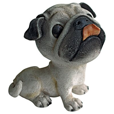 Prized Pup Pug Puppy Dog Statue