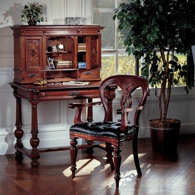 Design Toscano Chateau Anjou Demi-Desk with Arm Chair