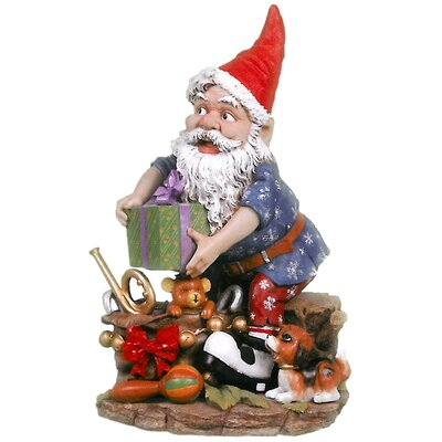 Design Toscano Gifty the Garden Gnome Statue