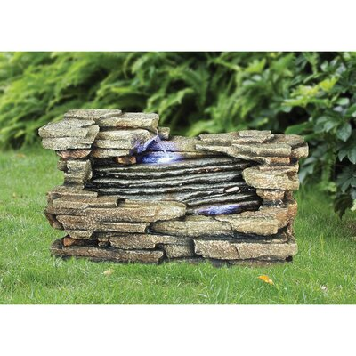 Design Toscano Chestnut Ridge Cascading Resin Garden Fountain