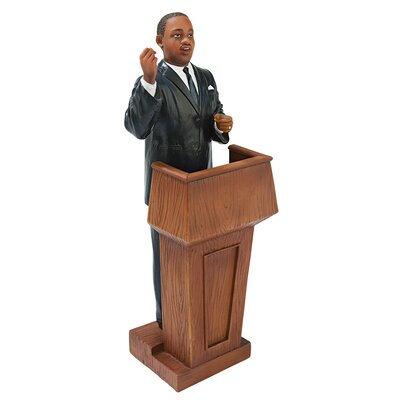 Martin Luther King At the Podium Statue