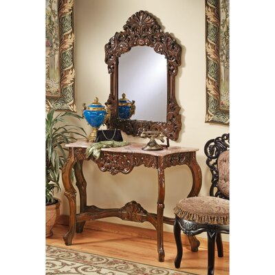 The Dordogne Console Table and Mirror Set