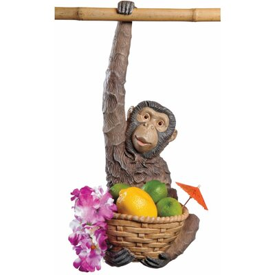 Monkey Business Hanging Statue (Set of 2)