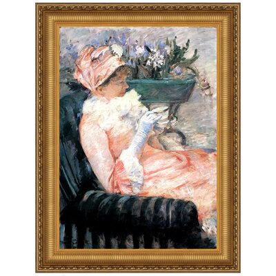 The Cup of Tea, 1879 by Mary Cassatt Framed Painting Print