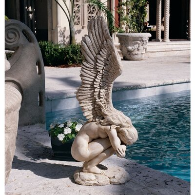 Design Toscano Remembrance and Redemption Angel Statue