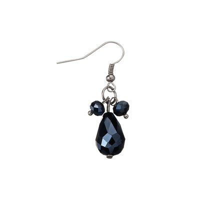 Design Toscano Winged Rapture Goth Angel Pendant and Earring Ensemble