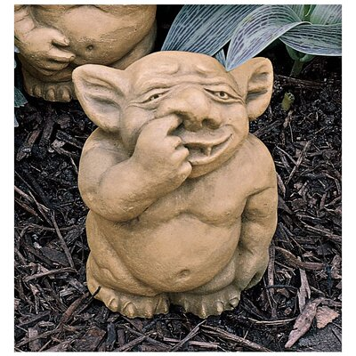 Design Toscano The Picc-a-Dilly Nose Gargoyle Statue