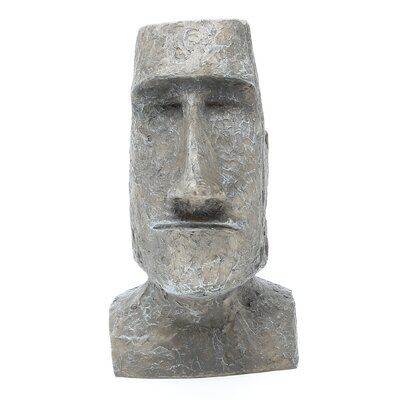 Design Toscano Easter Island Moai Monolith Sculpture in Stone