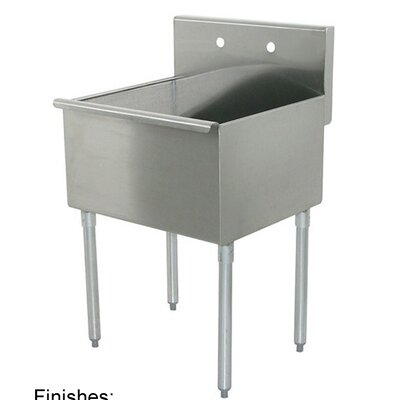 Noah Single Bowl Free Standing Laundry Sink