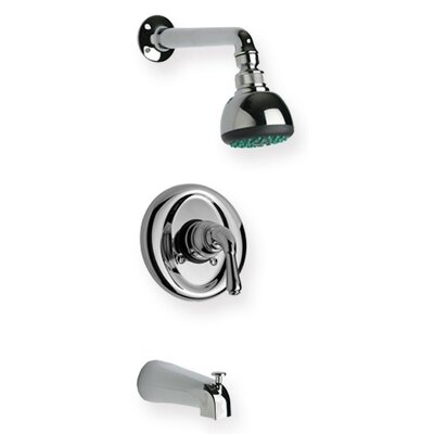 Whitehaus Collection Metrohaus Pressure Balance Diveter Tub and Shower Faucet