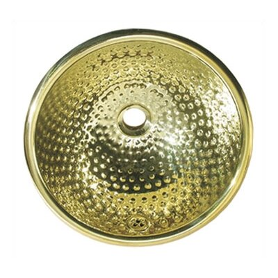 Decorative Round Ball Pein Bathroom Sink - WH602BM