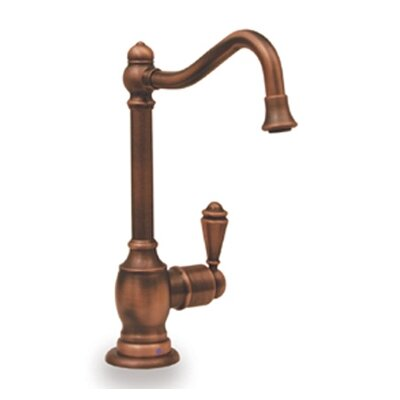 Forever Hot One Handle Single Hole Hot Water Dispenser Kitchen Faucet with Traditional Spout