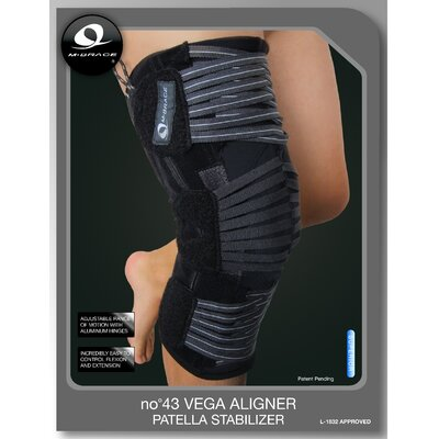 M-Brace Vega Aligner Knee Brace with Patella Stabilizer