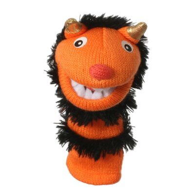 The Puppet Company Mini Sockettes Pumpkin Finger Puppet