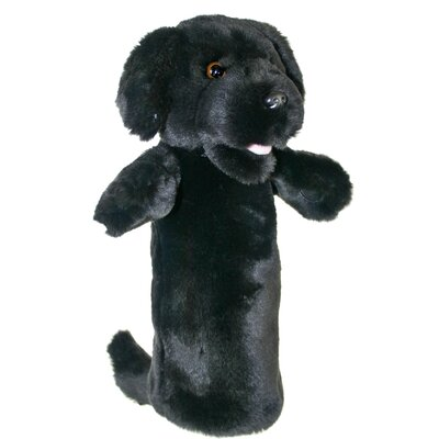The Puppet Company Long-Sleeved Labrador Glove Puppet in Black