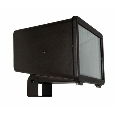 Deco Lighting 250W Large Flood Light with Yolk Mount in Bronze