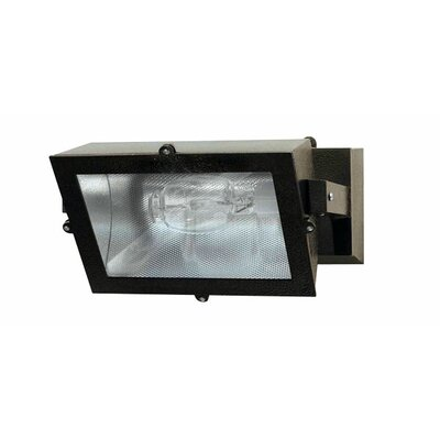150W MHPS MT Adjustable Outdoor Wall Light with Clear Glass in Bronze