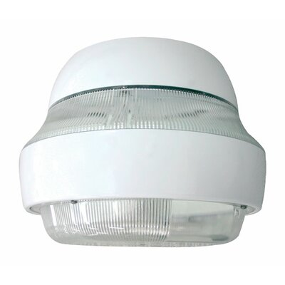 Deco Lighting 150W HPS Direct/Indirect Parking Garage Light in White