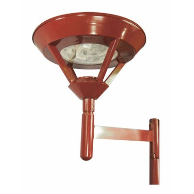 Deco Lighting 70W Architectural Diamond Post Lamp Head in Dark Bronze