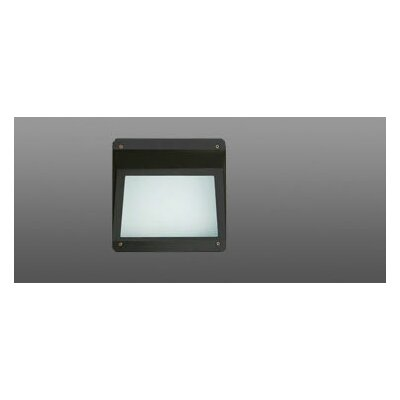 70w MHPS MT Architectural Reaccess Step Light with Open Frosted Glass in Bronze