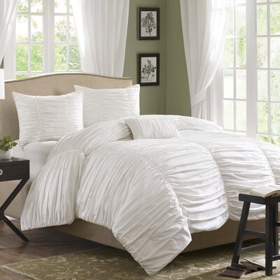 Madison Park Delancey 4 Piece Comforter Set