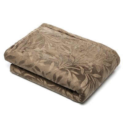 <strong>Madison Park</strong> Falling Leaves Mink Down Alternative Polyester Throw