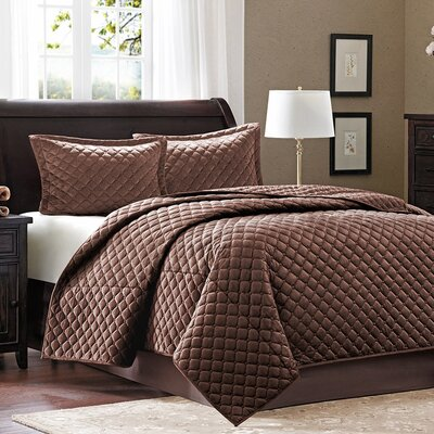 <strong>Madison Park</strong> 3 Piece Coverlet Set