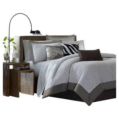 Madison Park Sasha 7 Piece Comforter Set
